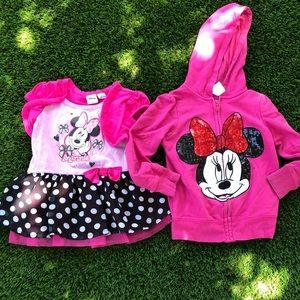 Girls Disney mini mouse size 4/5 bundle